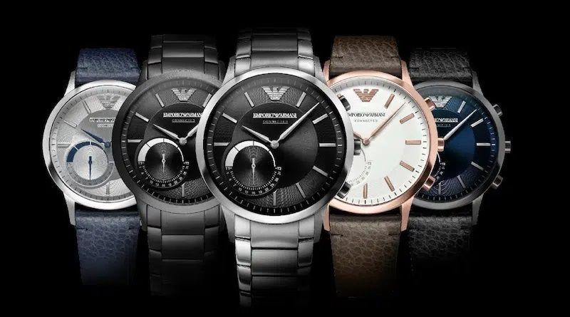 Fossil chuẩn bị ra mắt đồng hồ lai Emporio Armani thế hệ mới